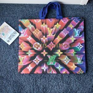 EXTRA LARGE Louis Vuitton Shopping bag